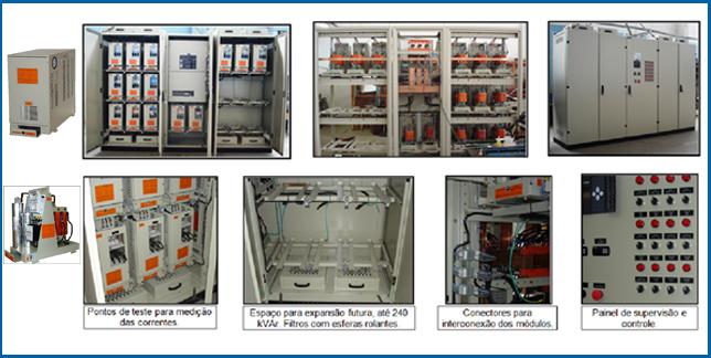 Filtros DH Banco Autom. de Filtros DH com CFP